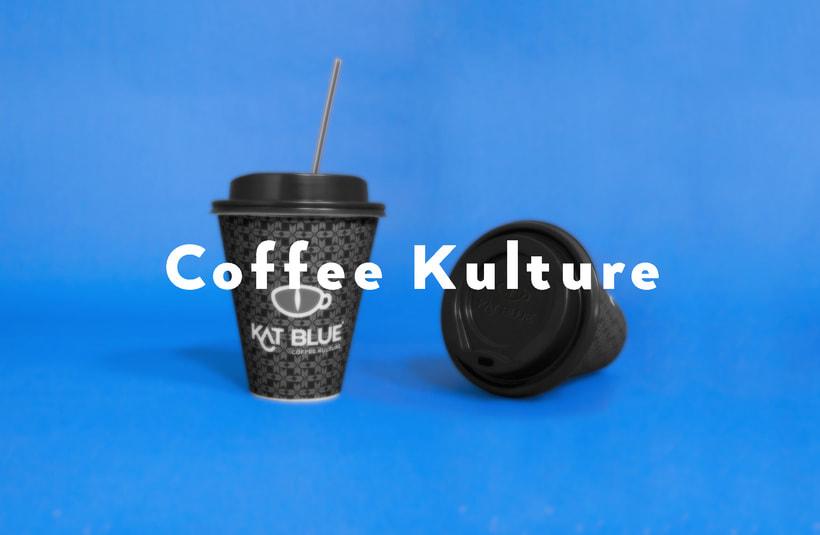 Kat Blue, proyecto de branding para café de autor 5