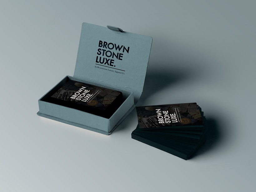 Brownstone Luxe Fashion Branding 12