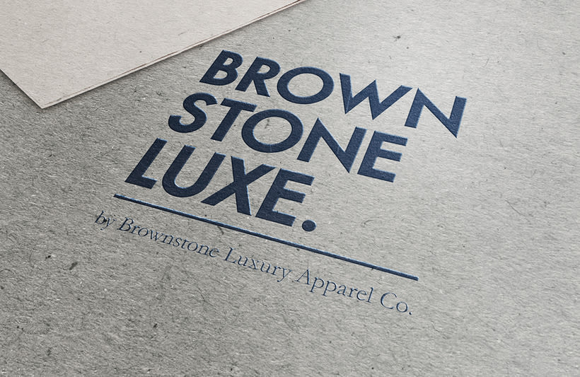 Brownstone Luxe Fashion Branding 13