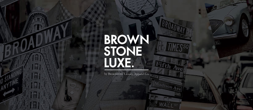 Brownstone Luxe Fashion Branding 0