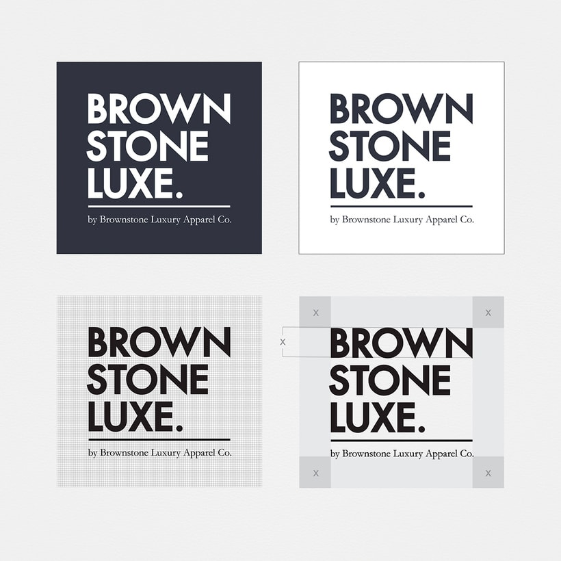 Brownstone Luxe Fashion Branding 4