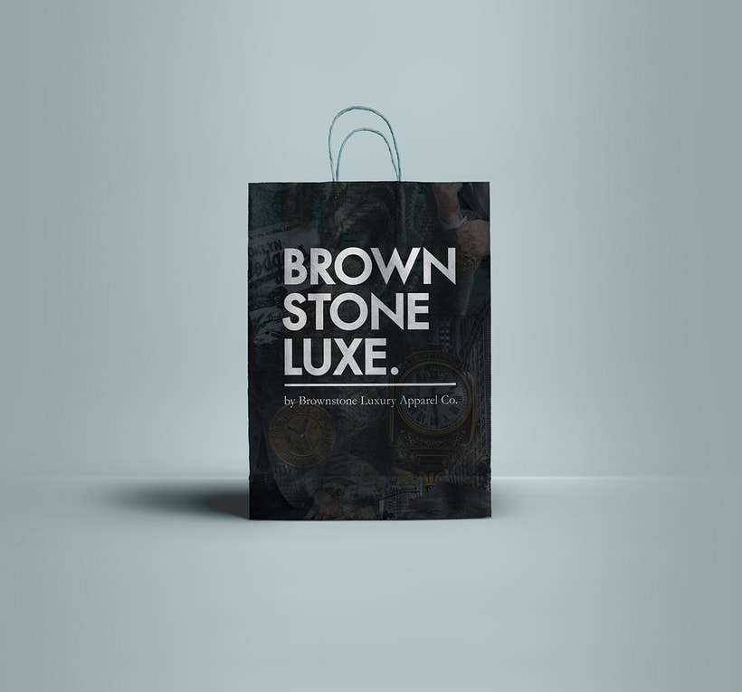 Brownstone Luxe Fashion Branding 6