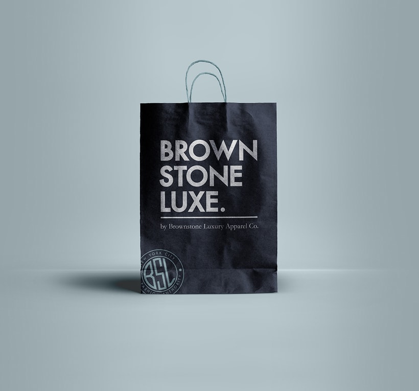 Brownstone Luxe Fashion Branding 7