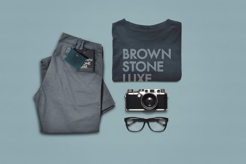 Brownstone Luxe Fashion Branding 8