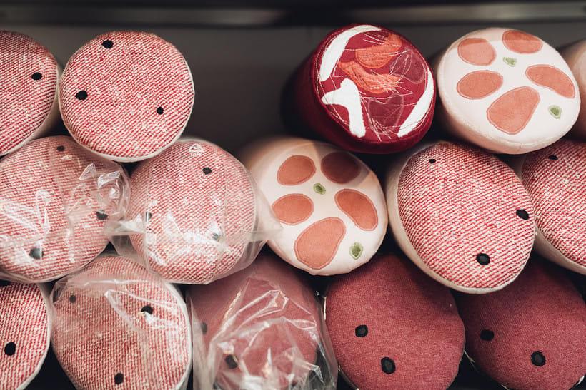 Aufschnitt Berlin: Una peculiar carnicería textil 7