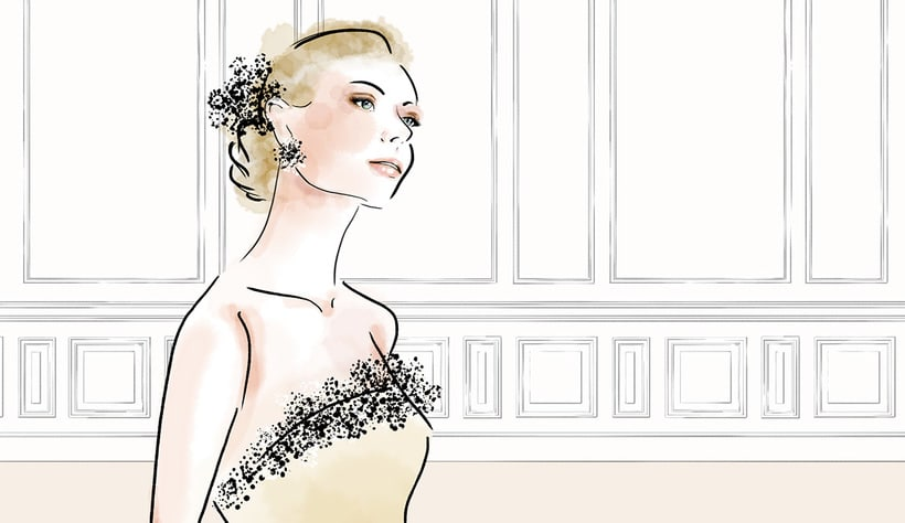 Fashion Illustration- Bride 1
