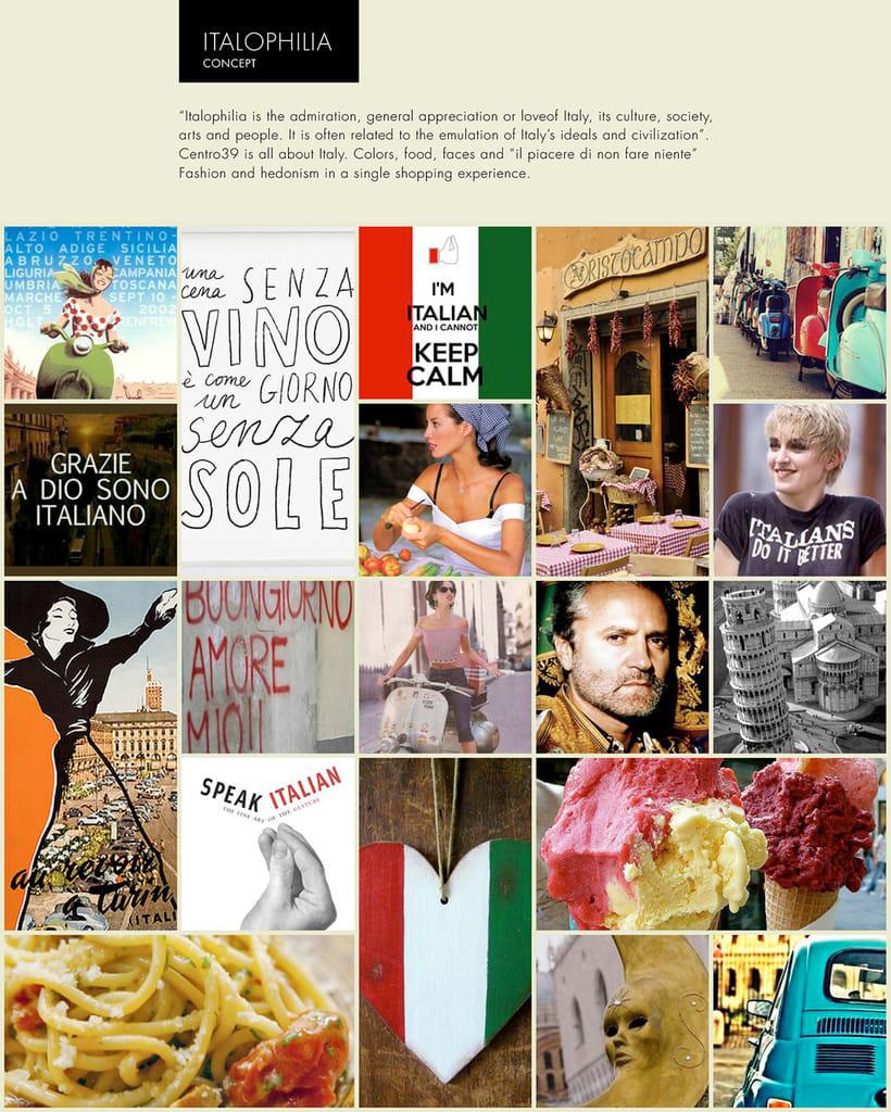 Italofilia Boutique - Branding and Web Design 0