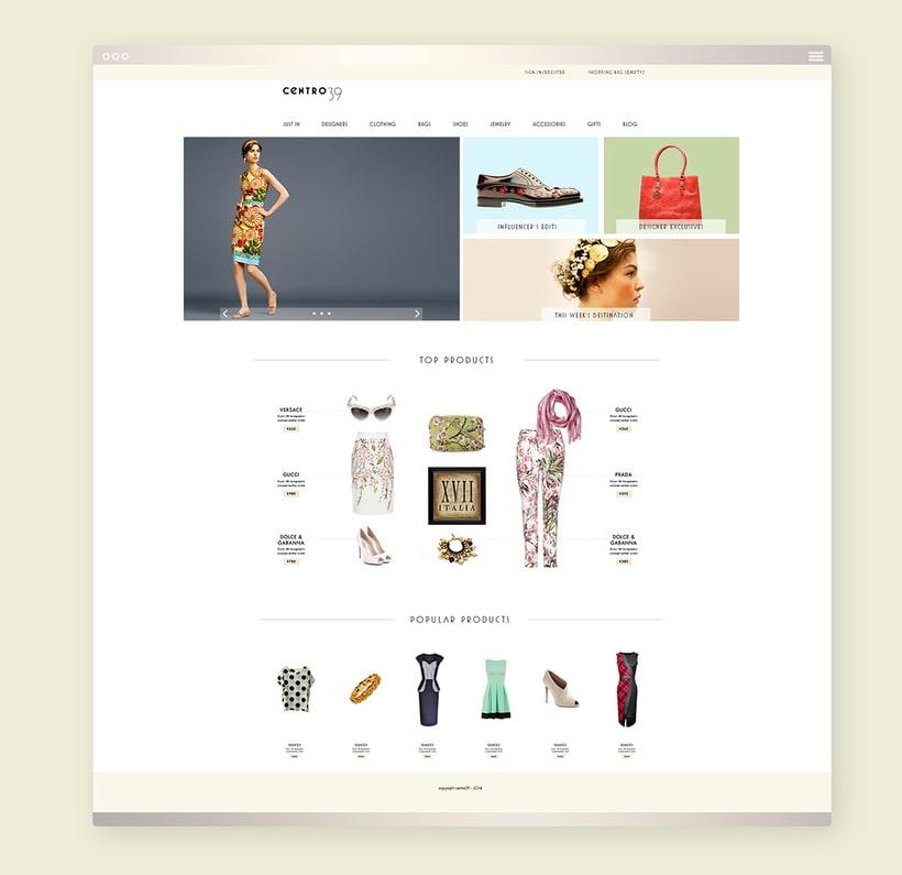 Italofilia Boutique - Branding and Web Design 6