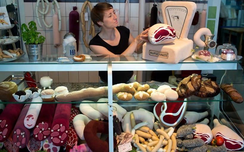 Aufschnitt Berlin: Una peculiar carnicería textil 2