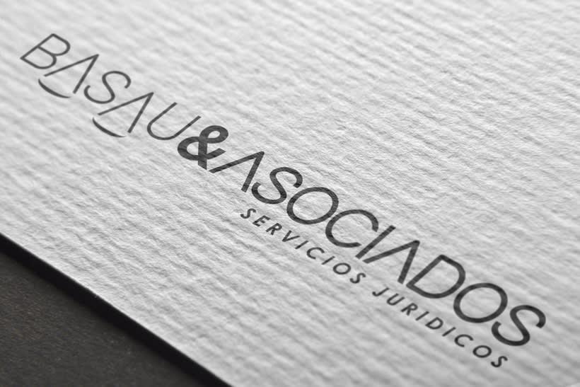Logotipo y papelería para Basau & Asociados  0