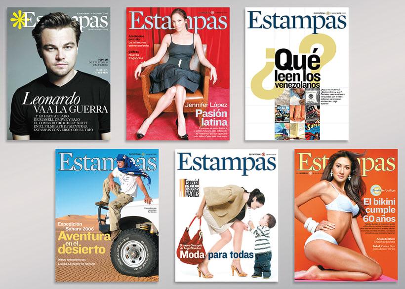 Diseño de Revista Estampas 0