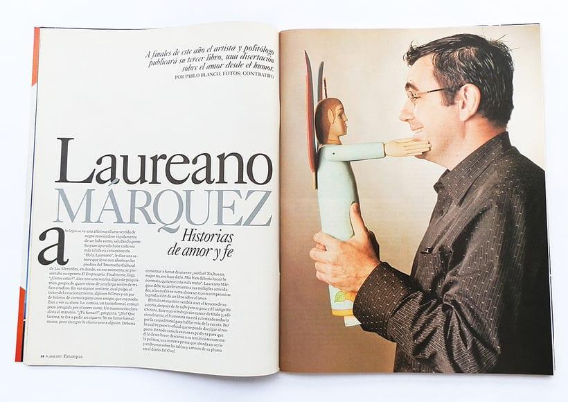 Diseño de Revista Estampas 1