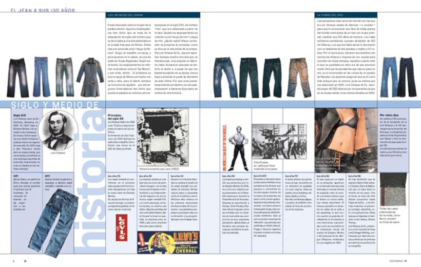 Diseño de Revista Estampas 3