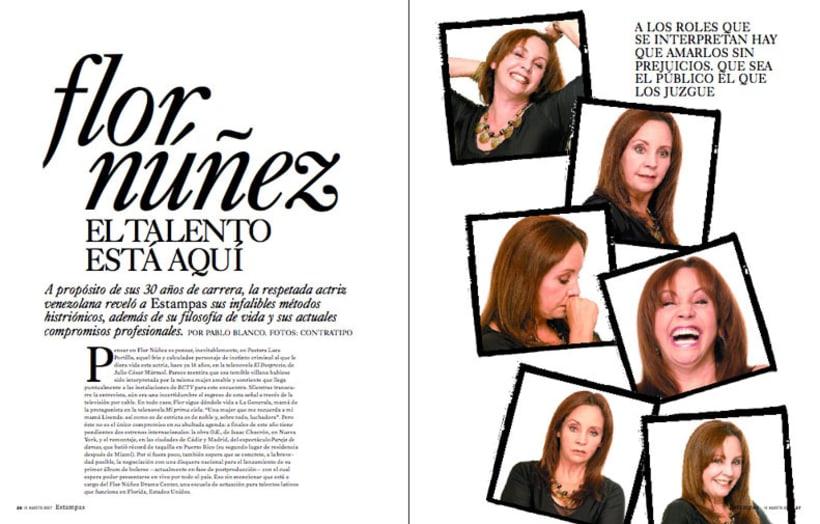 Diseño de Revista Estampas 5