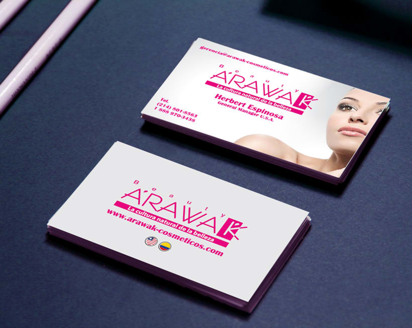 Beauty Arawak - Tarjetas 0