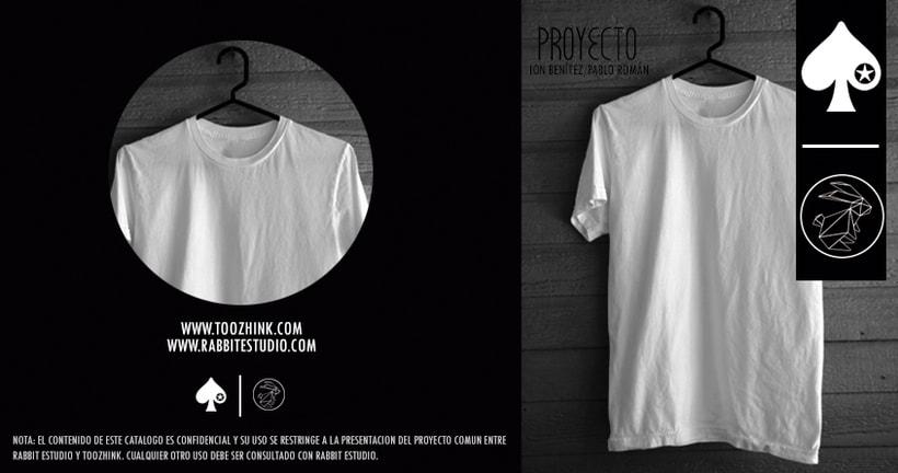 Diseño camisetas Too Zhink 1