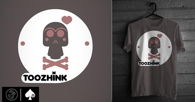 Diseño camisetas Too Zhink 16