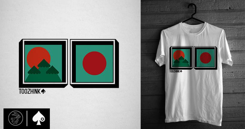 Diseño camisetas Too Zhink 17