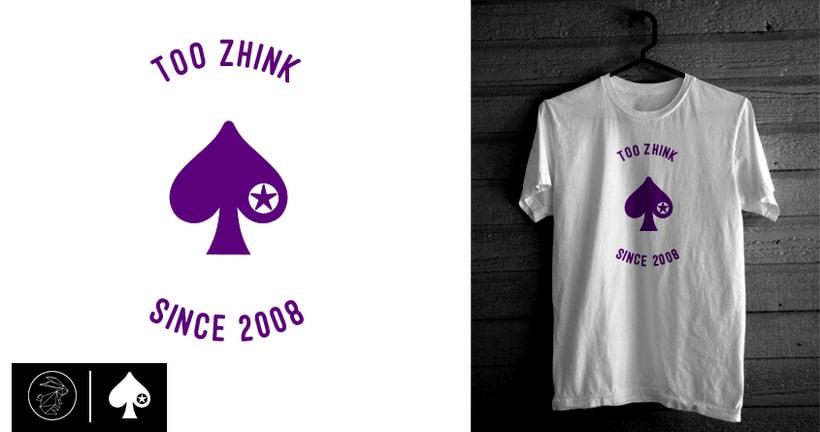 Diseño camisetas Too Zhink 18