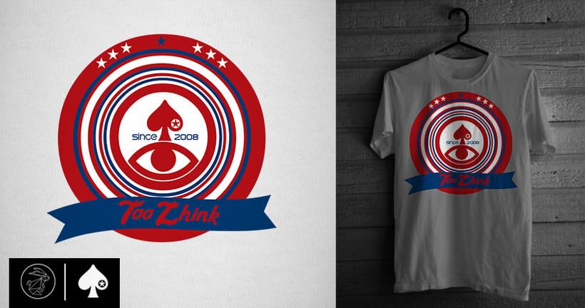 Diseño camisetas Too Zhink 19