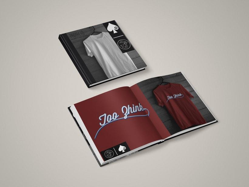 Diseño camisetas Too Zhink 21