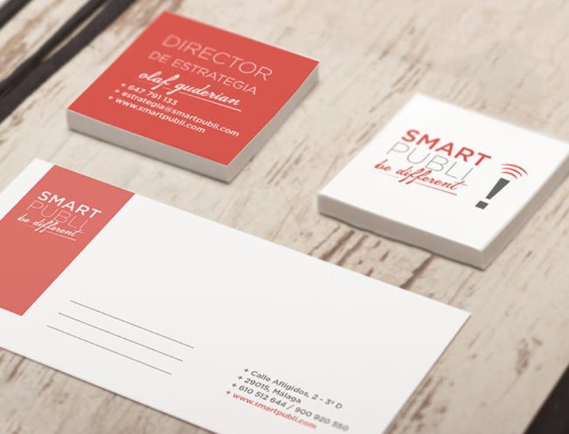 Branding e Identidad corporativa para Smartpubli -1
