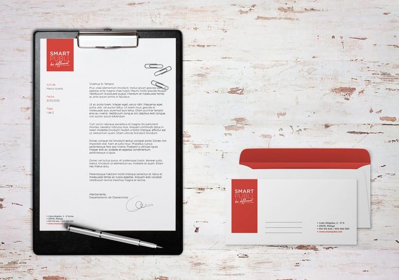 Branding e Identidad corporativa para Smartpubli 0
