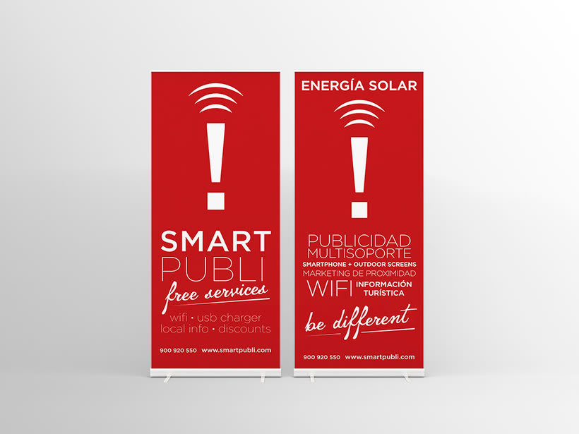 Branding e Identidad corporativa para Smartpubli 1