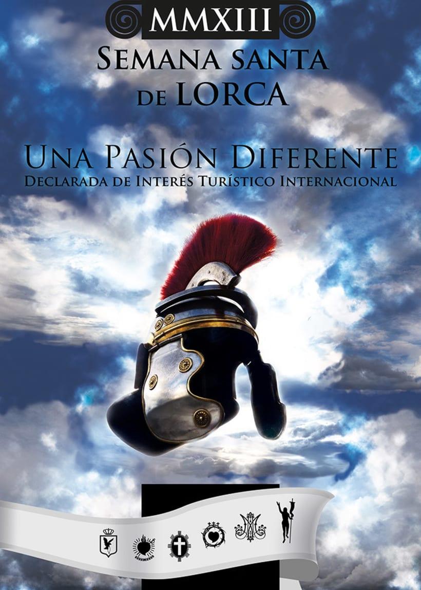 Cartel para la Semana Santa de Lorca 0