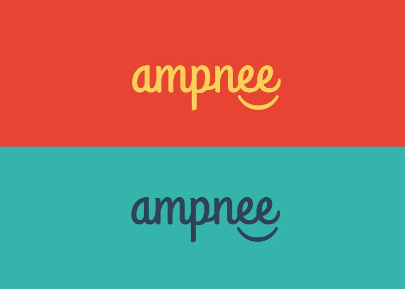 ampnee | Brand Identity 1