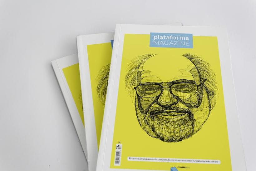 Plataforma Magazine - Proyecto Editorial 0