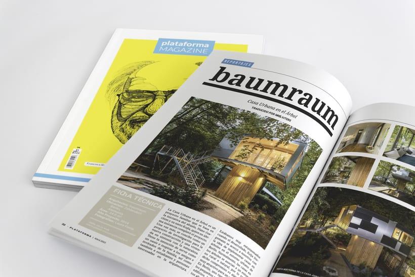 Plataforma Magazine - Proyecto Editorial 9