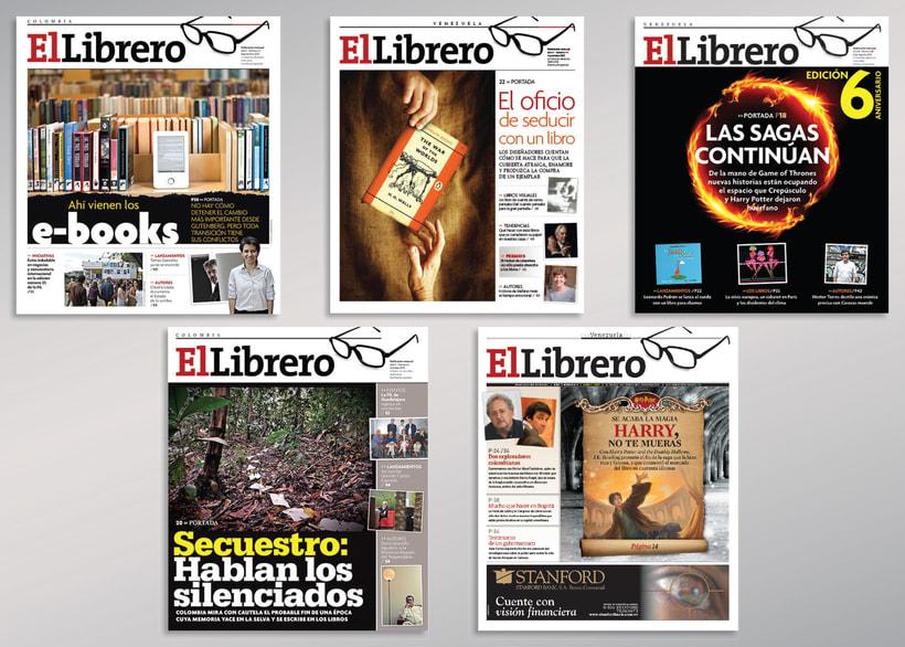 Diseño revista El Librero -1