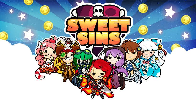 Sweet Sins App - Character Design 0