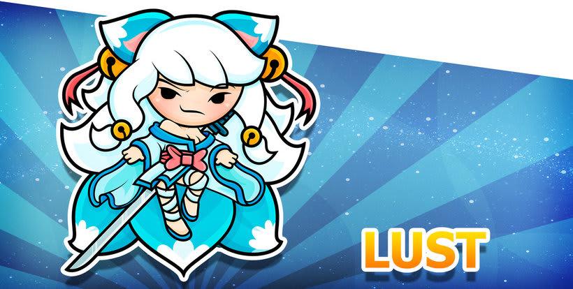 Sweet Sins App - Character Design 6