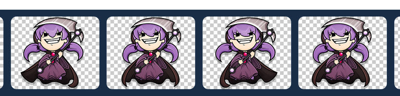 Sweet Sins App - Character Design 17