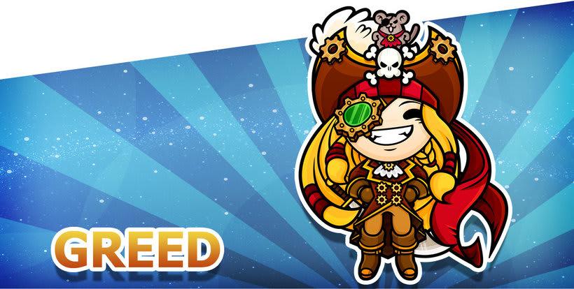 Sweet Sins App - Character Design 18