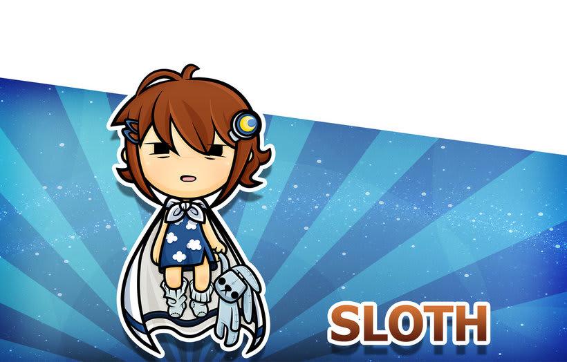 Sweet Sins App - Character Design 22