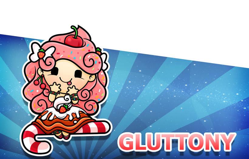 Sweet Sins App - Character Design 26