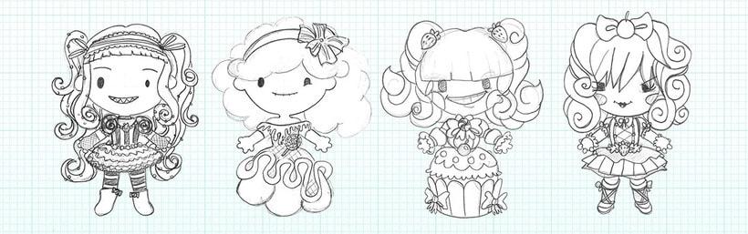 Sweet Sins App - Character Design 27