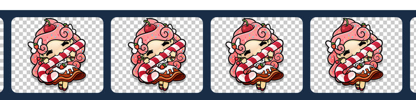 Sweet Sins App - Character Design 29