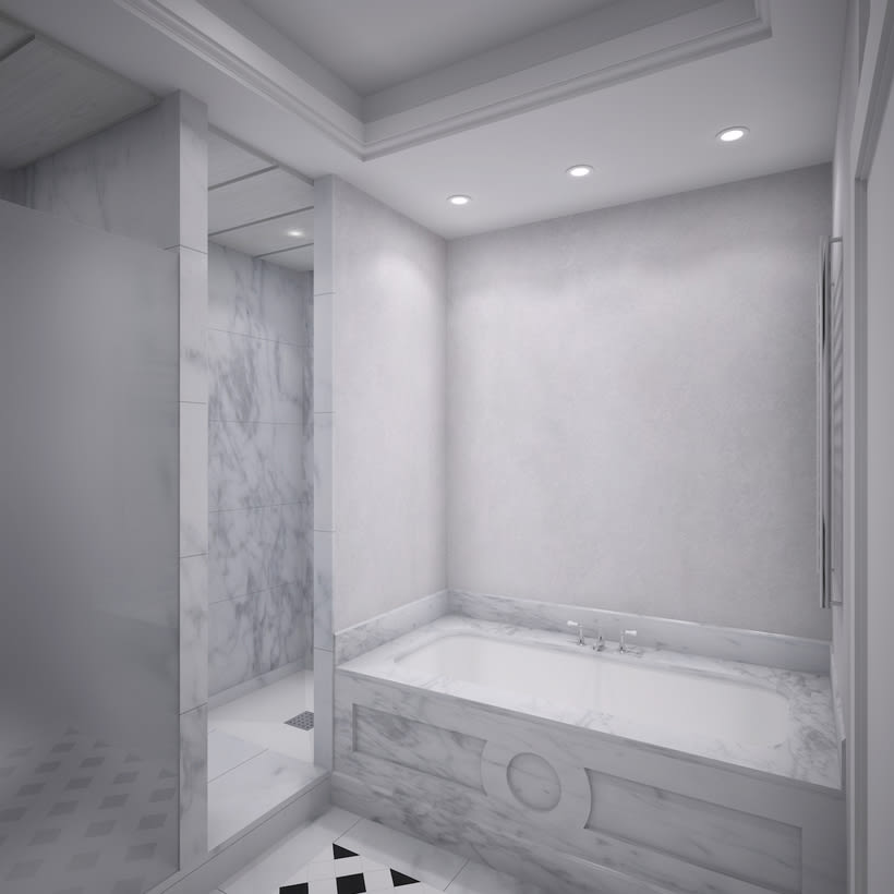 3D Baño  3