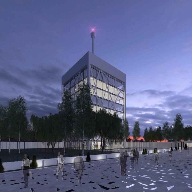 3D Edificios oficinas 2