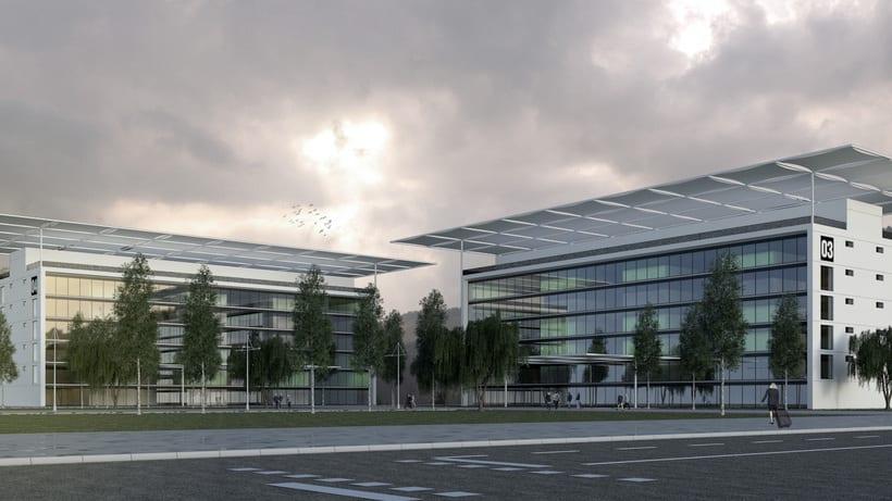 3D Edificios oficinas 4