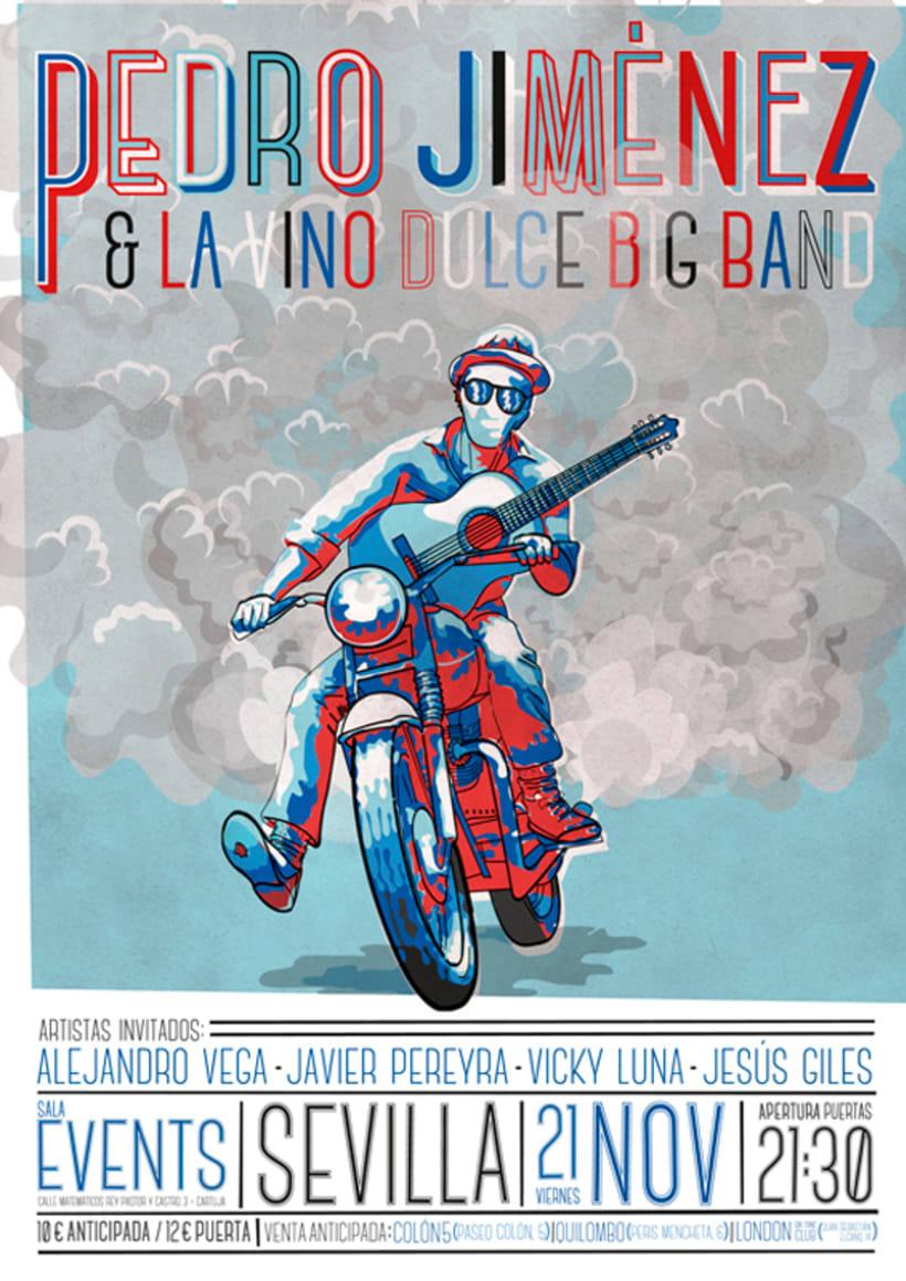 Pedro Jiménez & La Vino Dulce Big Band. 1