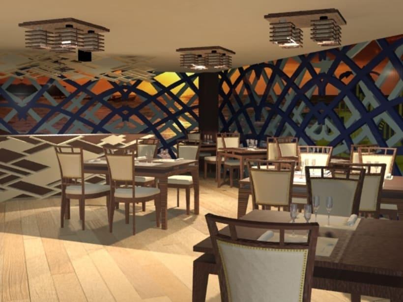 Restaurant ocean lounge -1