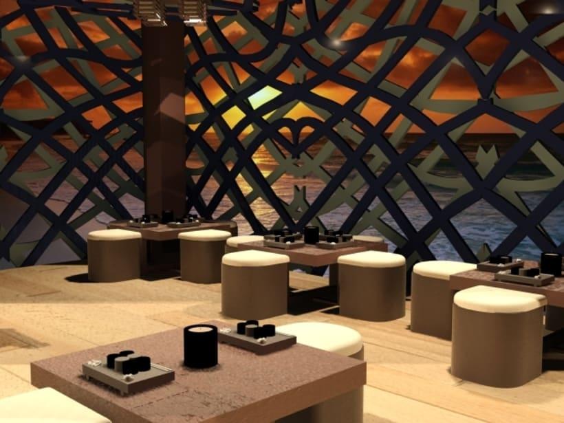 Restaurant ocean lounge 1