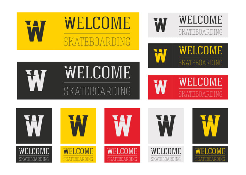 Welcome Skateboarding Shop | Brand Redesign 6