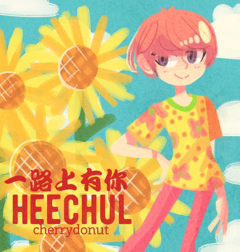 Heechul (personal y para Heechul Chile Petals) 2