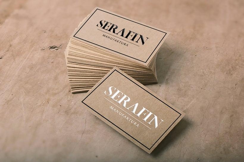 Branding - Serafin Manufaktura (taller de costura) 3